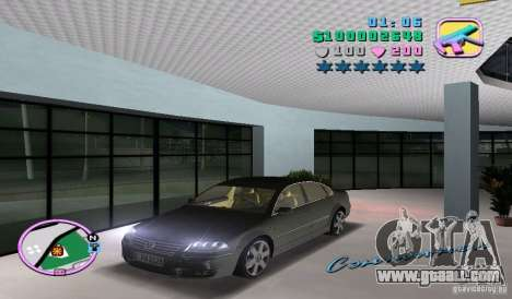 Volkswagen Passat B5+ W8 for GTA Vice City