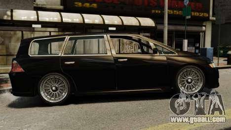 Honda Odyssey for GTA 4 left view