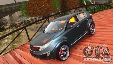 Kia Sportage 2010 v1.0 for GTA 4 inner view