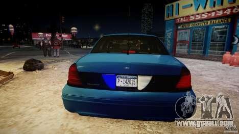 Ford Crown Victoria Detective v4.7 [ELS] for GTA 4 interior