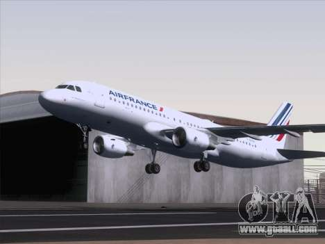 Airbus A320-211 Air France for GTA San Andreas