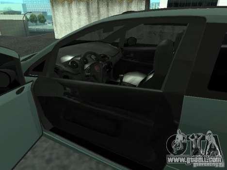 Fiat Punto EVO SPORT 2010 for GTA San Andreas back left view