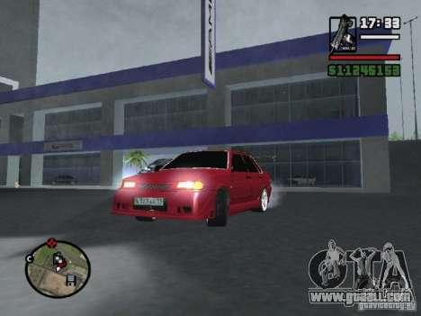 VAZ 2115 TUNING for GTA San Andreas back view