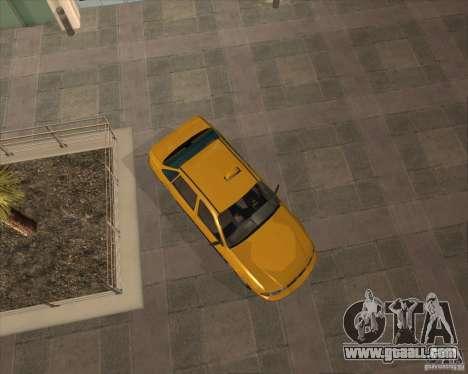 Daewoo Nexia Taxi for GTA San Andreas right view