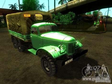 ZIL 157 Truman for GTA San Andreas