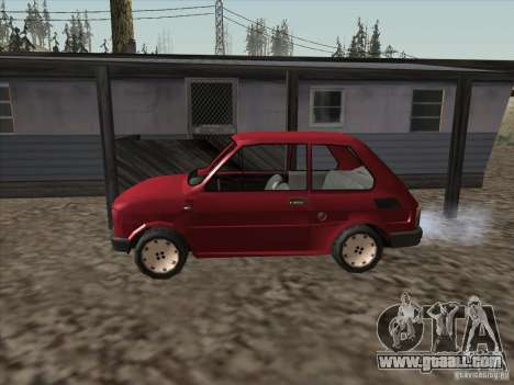 Fiat 126p Elegant for GTA San Andreas left view