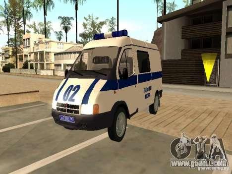 GAZ 2217 Sobol POLICE for GTA San Andreas