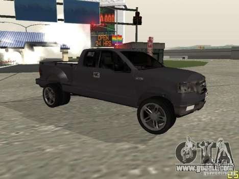 Ford F-150 for GTA San Andreas back view