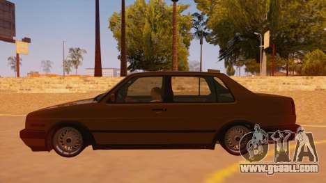 Volkswagen Jetta Mk2 for GTA San Andreas left view