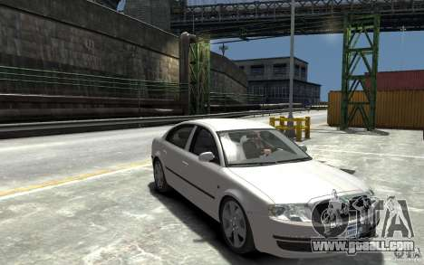Skoda SuperB for GTA 4 back view
