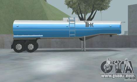 The new gas station TNK TNK + Trailer for GTA San Andreas third screenshot