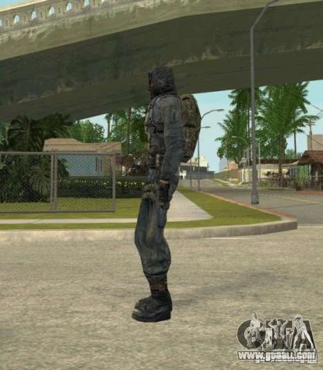 Grouping of Mercenaries from a stalker for GTA San Andreas tenth screenshot