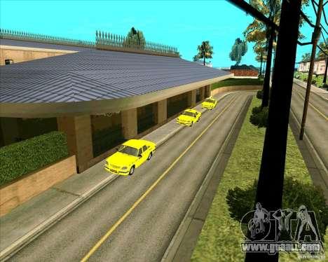 Priparkovanyj transport v1.0 for GTA San Andreas third screenshot