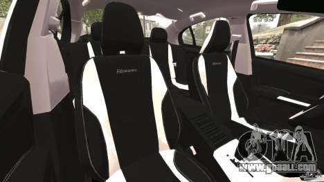 Volvo S60 R Design for GTA 4 inner view
