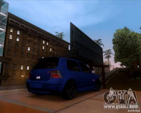 Volkswagen Golf GTi 2003 for GTA San Andreas side view