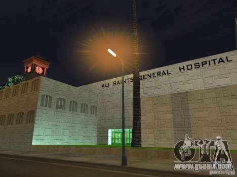 The New Hospital for GTA San Andreas second screenshot