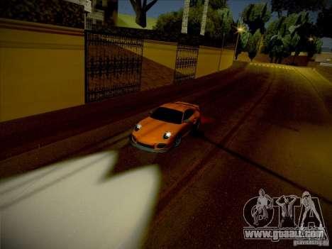 Porsche 997 GT2 for GTA San Andreas right view