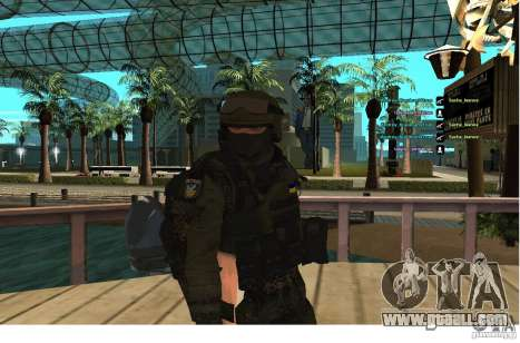 Special Forces Berkrut for GTA San Andreas