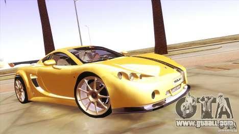 Ascari A10 for GTA San Andreas back view