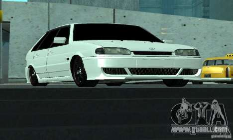 ВАЗ 2114 Tuning for GTA San Andreas right view