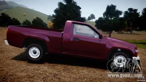 Chevrolet Colorado 2005 for GTA 4 left view