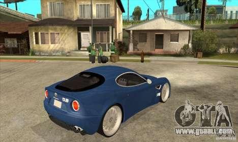 Alfa Romeo 8C Competizione for GTA San Andreas right view