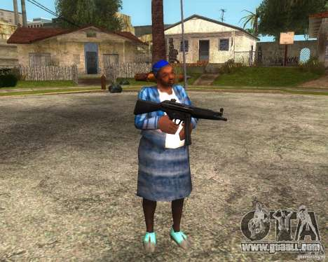 Gangsta Granny for GTA San Andreas forth screenshot