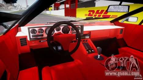 Lamborghini Countach v1.1 for GTA 4 back view