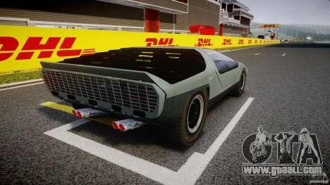 Alfa Romeo Carabo for GTA 4 inner view