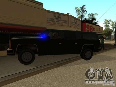 Camouflaged cops for GTA San Andreas second screenshot