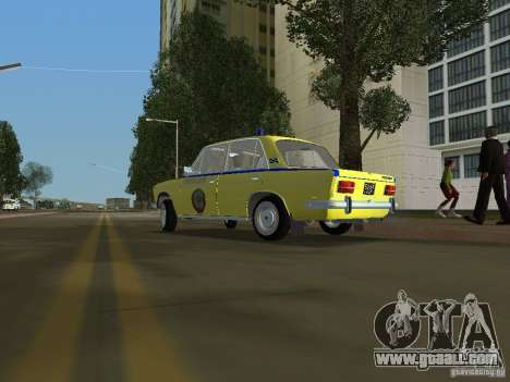 Vaz 2103 Police for GTA Vice City left view