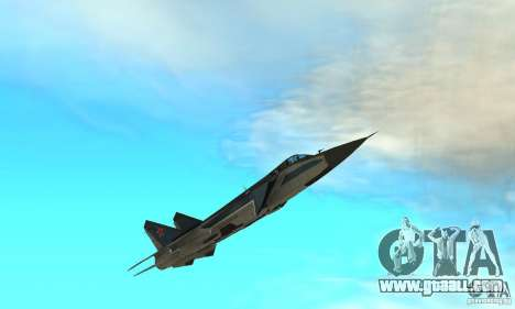 MiG-31 Foxhound for GTA San Andreas bottom view