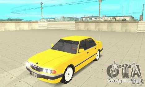 BMW 750I E32 for GTA San Andreas
