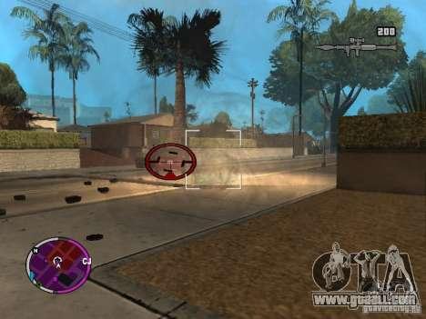 TBOGT HUD for GTA San Andreas second screenshot