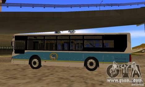 Daewoo Bus BC211MA Almaty for GTA San Andreas left view