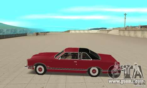 Ford LTD Landau Coupe 1975 for GTA San Andreas left view