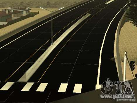 New Roads in San Andreas for GTA San Andreas third screenshot