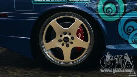 Toyota Supra 3.0 Turbo MK3 1992 v1.0 for GTA 4 bottom view