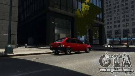 VAZ 2109 light tuning for GTA 4 left view