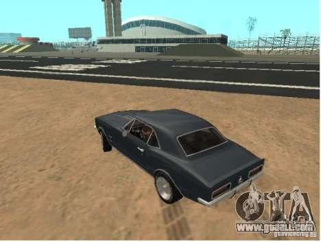 Chevrolet Camaro SS 396 Turbo-Jet for GTA San Andreas left view