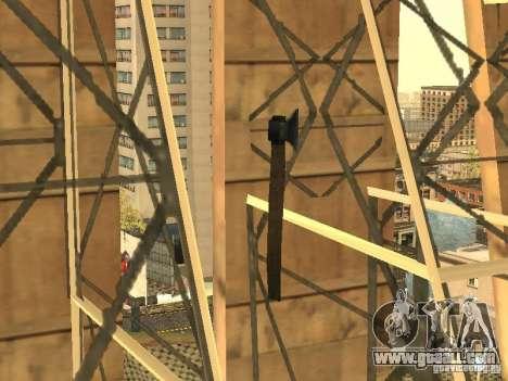 Axe for GTA San Andreas third screenshot