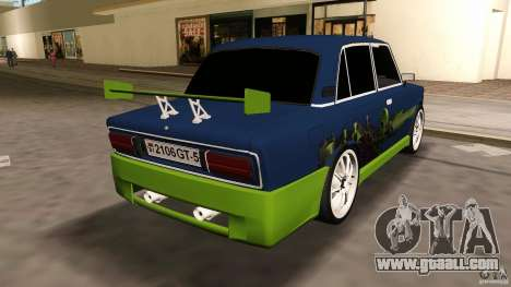 VAZ 2106 Tuning v2.0 for GTA Vice City right view