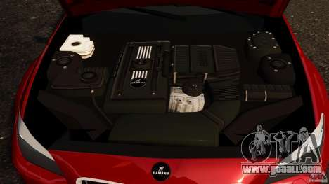 BMW M5 F10 2012 Hamann for GTA 4 inner view