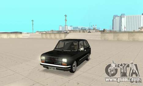 Fiat 147 Brio 1977 for GTA San Andreas