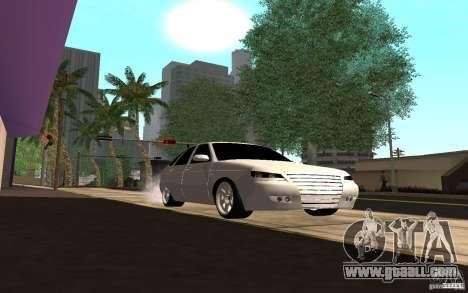 LADA PRIORA van tuning for GTA San Andreas back view