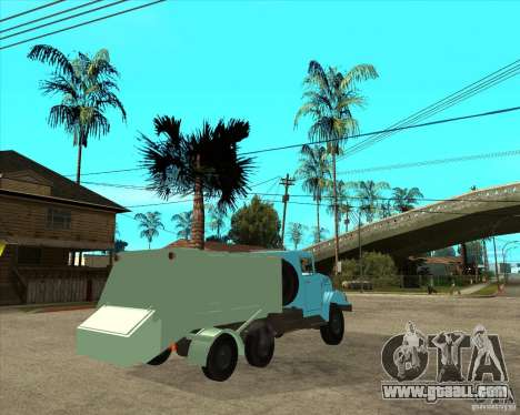ZIL 131 garbage truck for GTA San Andreas back left view