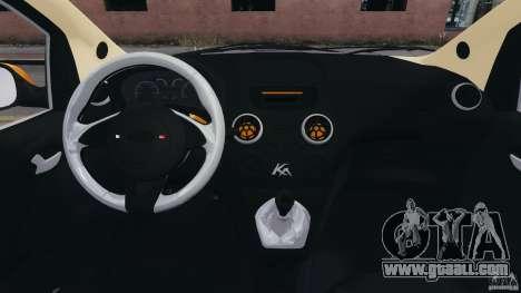 Ford Ka 2011 for GTA 4 back view