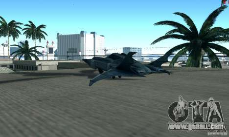 BatWing for GTA San Andreas right view