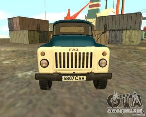 GAZ 53-12 TRUCK-3 for GTA San Andreas right view
