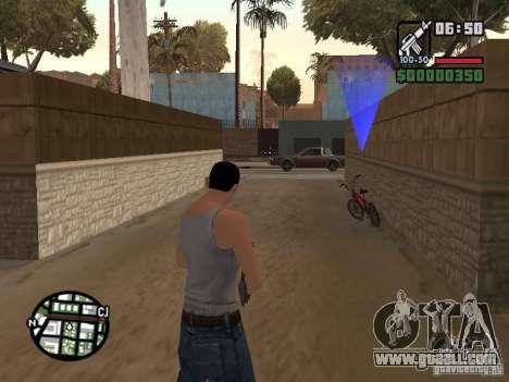 Skin for CJ-Cool guy for GTA San Andreas fifth screenshot